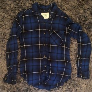 Abercrombie & Fitch flannel size xs-s
